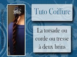 Tuto Coiffure Tresse Deux Brins Ou Torsade Ou Corde Youtube