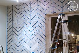 wall painting designs tape once paint mostly dry