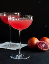 the blood orange vesper martini is a dramatic l inspired by a clic espionage love story