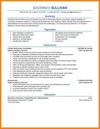 Sample Human Resources Resume 100 Human Resource Resume Sample Action Words List 85