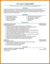 Sample Human Resources Resume 100 human resource resume sample action words list 85