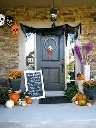 halloween front door decorationsdiy halloween party decorations Front Porch Halloween Decorations