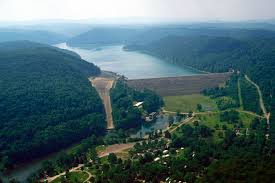 Quemahoning Reservoir Depth Chart Youghiogheny River Lake Wikipedia