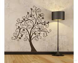 scroll tree wall decal vinyl tree wall