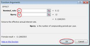 Use Excel To Figure Out An Effective Interest Rate From A Nominal