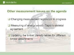 Development Of Finnish Wood Measurement Timber Measurement