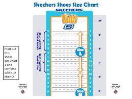 Skechers Toddler Size Chart Skechers Uk Size Guide