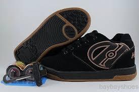 Heelys Propel 2 0 Black Brown Gum Roller Skate Wheels