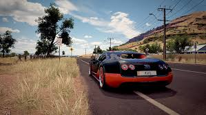 Fiche technique et performances de la bugatti veyron super sport 1200 ch caract?ristiques bugatti. Hd Wallpaper Forza Motorsport Forza Horizon 3 Bugatti Veyron Car Racing Wallpaper Flare