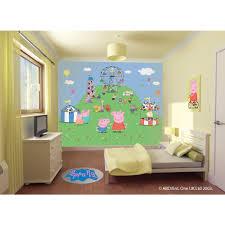 Peppa Pig Bedroom Furniture Walltastic Peppa Pig Wallpaper Mural Next Day Delivery