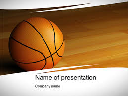 Basketball Powerpoint Template Basketball On Floor Powerpoint Template Backgrounds 10638