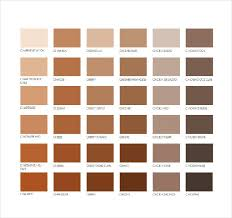 Pantone Brown Color Chart Pantone Orange Color Chart Bedowntowndaytona Com