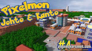 Download Pixelmon Johto – Pokemon's Johto & Kanto recreated Mod for  Minecraft 1.16.5 / 1.12.2 - 2Minecraft.Com