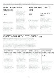 Newspaper Article Summary Template Newspaper Template Article Classroom Freebies News For