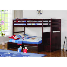 ltlt previous modular bedroom furniture. Donco Kids Modular Loft Twin Over Full With Stairs In Cappuccino - Configuration 10 Ltlt Previous Bedroom Furniture T