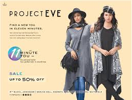 project eve clothing upto 50 off ad