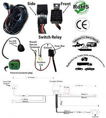 led light bar work light wiring kit single channel low voltage 12 utv winch wiring kit at 12 Volt Wiring Harness Kit