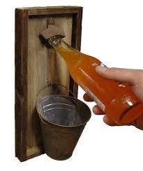 wall mounted beer bottle opener with