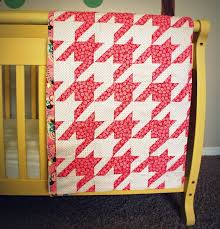 44 best Houndstooth Quilts images on Pinterest | Anna maria horner ... & beautiful baby quilt where the back is as beautiful as the front and the  story behind Adamdwight.com