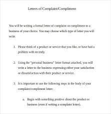 Letter Of Complaints Sample 19 Formal Complaint Letter Templates Pdf Doc 45044585016 Formal
