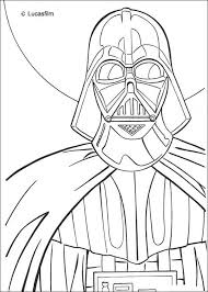 Small Picture Darth vader mask coloring pages Hellokidscom
