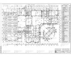 Скачать бесплатно дипломный проект ПГС Диплом № Деловой  3 План 1 го этажа jpg