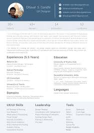 What is the format for a graphic designer resume (fresher) in India?