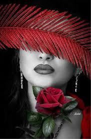 Zdjęcie | Value of colours | Red <b>paint</b>, Color splash, Colorful fashion