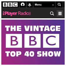 Chart Top 2017 The Bbcs Vintage Top 40 Show From Saturday 7th October 2017