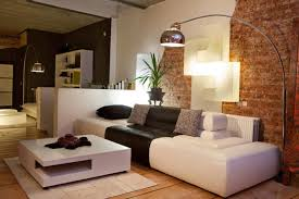 Image Decor Modern Living Room With Exposed Brick Wall Home Stratosphere 38 Beautiful Living Rooms With Exposed Brick Walls