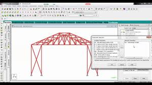 Tata Steel Design Software Staad Pro Interactive Steel Design Using Truss Best Explained In Detail
