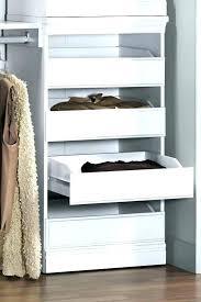 closet storage drawers wood wonderful innovative ideas in modular cabinet