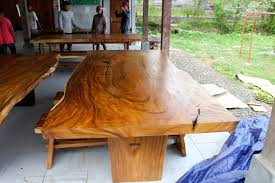 european live edge tables calgary with love this new spirit wood table suar from java baliandbeyond