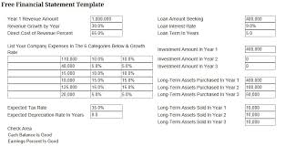 Free Financial Statements Templates Business Finance 101 Simple Financial Reporting Template Online