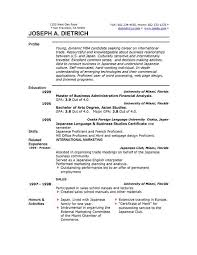 Professional Resume Template Word 19 Microsoft Office Example