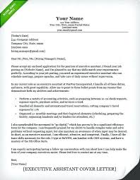 Executive Cover Letters Sample Cover Letter For Office Assistant Best Of Administrative