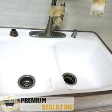reglaze sink kitchen sink refinishing diy reglaze bathroom sink refurbish porcelain sink