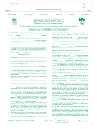 Free Missouri Apartment Association Residential Lease Agreement Form ...