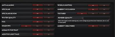 dota 2 what do the settings mean arqade