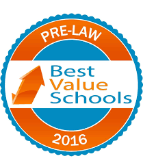 best value schools for pre law best value schools best value schools pre law 2016 click here for high resolution badge