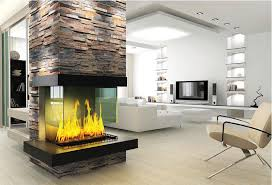 copper rust flat slate fireplace stacked ledge stone