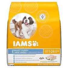 Iams Puppy Food Chart Iams Proactive Health Smart Puppy Large Breed Puppy Food