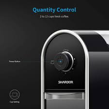Shardor will be committed to kitchen small appliances and will develop and launch durable cooking tools constantly. Shardor Coffee Grinder