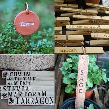 image above clockwise from top left round herb markers 21 set of 20 plant clips 10 plant markers 28 for 6 clay garden markers 15