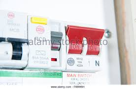 domestic fuse box stock photos domestic fuse box stock images domestic home electrics main fuse box on off switch uk stock image