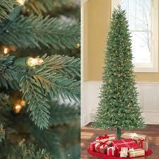 Shop GE 75ft PreLit Alaskan Pine Full Flocked Artificial Sale On Artificial Prelit Christmas Trees