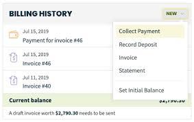 Statement Of Invoices Billing History Box Jobber Help Center
