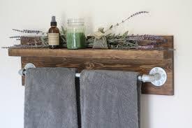 ... Shelf Decorative Bathroom Towel Racks Ideas: Fascinating Bathroom Towel  Racks Design ...