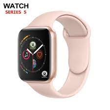 Gül altın akıllı izle serisi 6 Smartwatch apple iphone 6 6 s 7 8 X XS artı  samsung IOS android akıllı izle honor3 xiaomi|Smart Watches