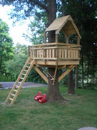 treehouse plans free tree houses for to live in simple house kids
